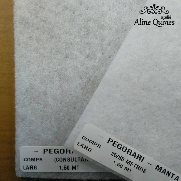 Manta R1 Poly 100gr Pegorari - 50cm X 150cm