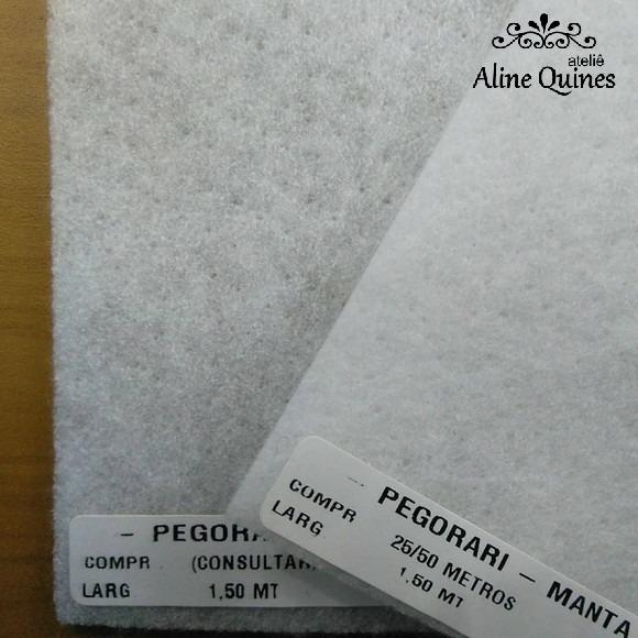 Manta R2 Poly 100gr Pegorari - 150cm X 50cm