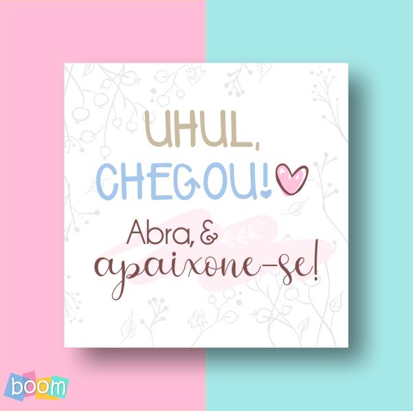 Adesivo Uhul Chegou - Mod 33