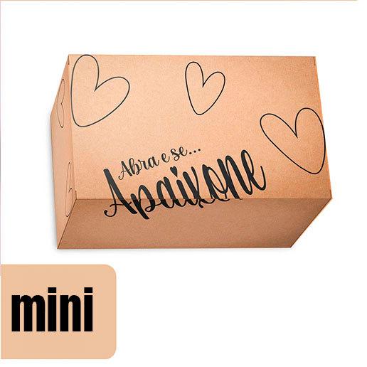 Caixa de Papelão Mini - Kraft