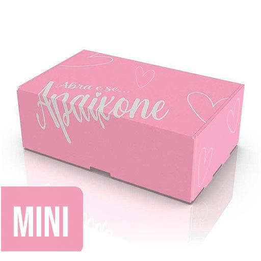 Caixa de Papelão Mini - Rosa