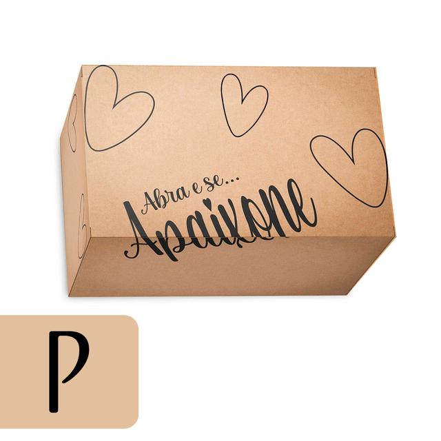 Caixa de Papelão P - Kraft