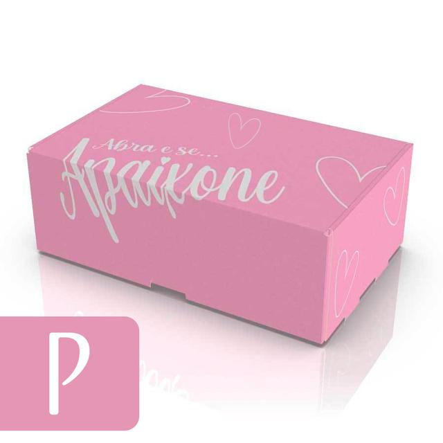 Caixa de Papelão P - Rosa
