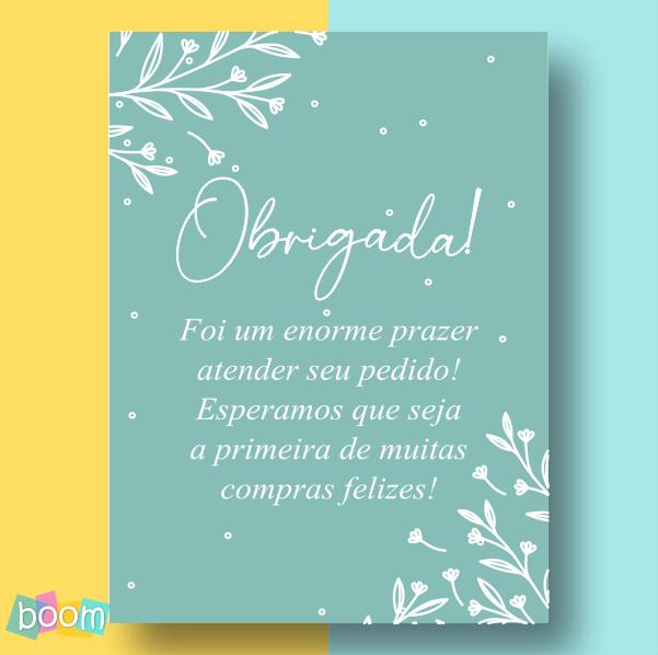 Cartão de Agradecimento - CÓD CA 04