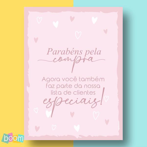 Cartão de Agradecimento - CÓD CA 06