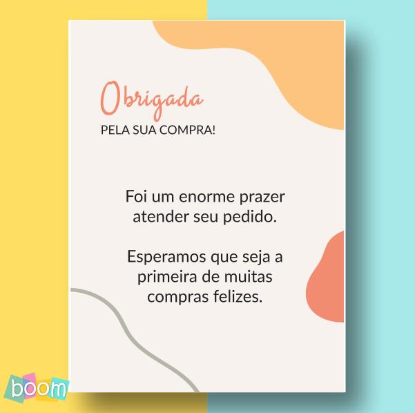 Cartão de Agradecimento - CÓD CA 205