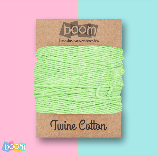 TWINE COTTON VERDE ABACATE