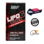 Lipo 6 Black Ultra Concentrado - Nutrex (60 Cápsulas - Importado)