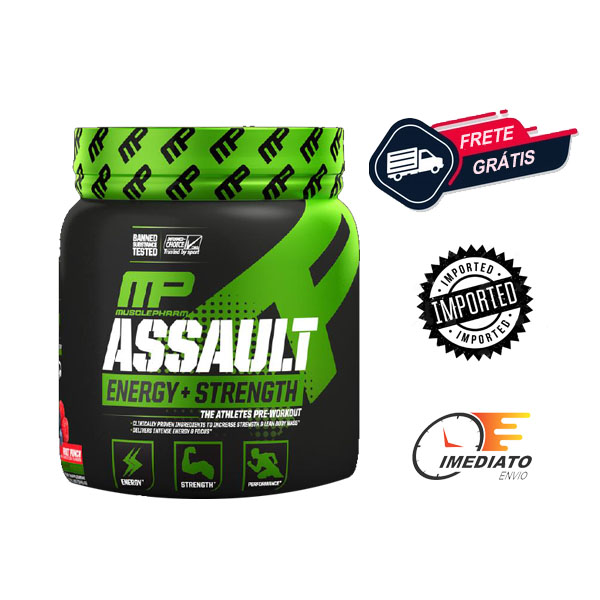 Assault - Muscle Pharm (345 Gramas - 30 Doses )