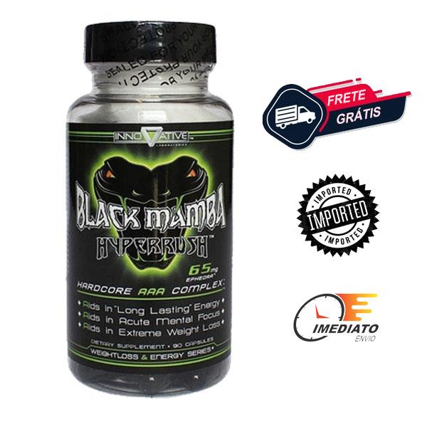 Black Mamba - Innovative Labs (90 Cápsulas - Importado)
