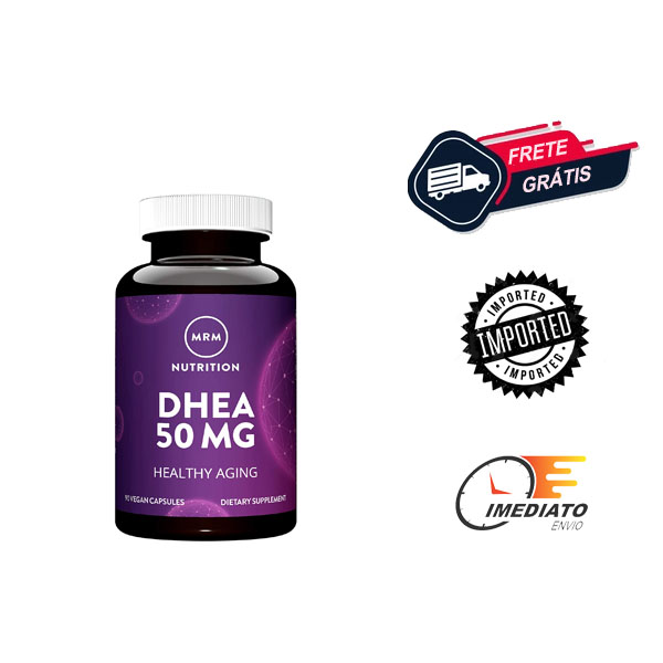 DHEA 50 MG - MRM   DHEA 25 MG - MRM   Para que serve, beneficios, comprar