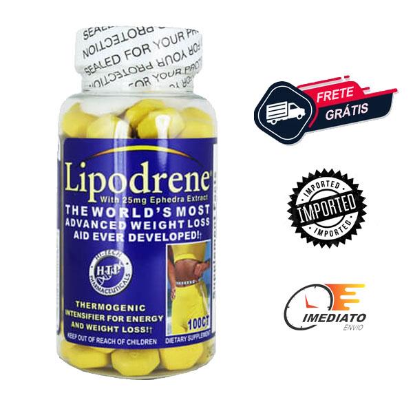 Lipodrene - Hi Tech (100 Comprimidos - Importado)