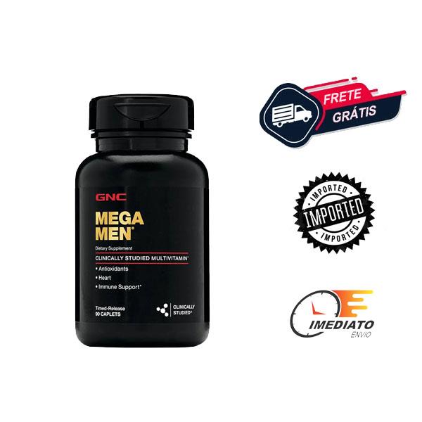 MegaMen - GNC (90 Cápsulas)