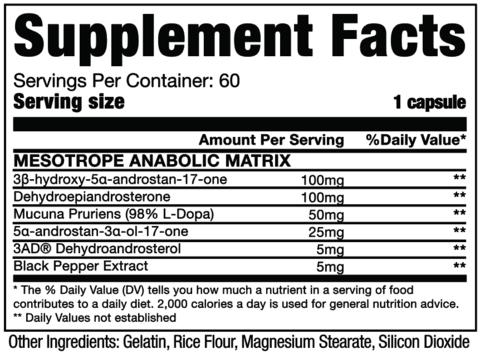 Mesotrope - Dragon Pharma (60 Cápsulas) | Para que serve, beneficios, comprar