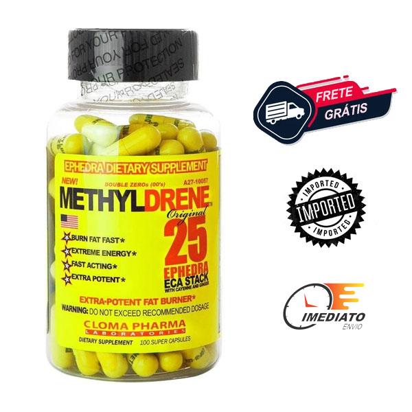 Methyldrene 25 - Cloma Pharma (100 Cápsulas - importado)