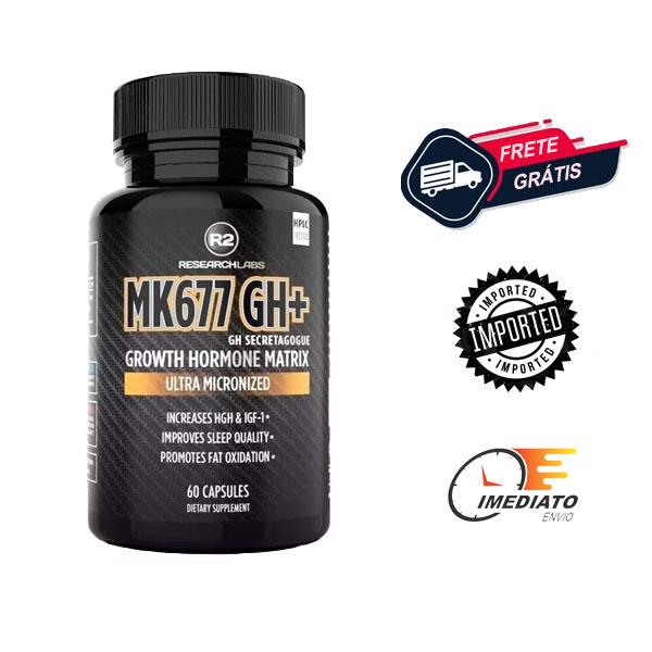 MK 677 - Research Labs (60 Cápsulas) - Ibutamorem