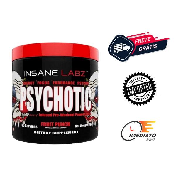 Psychotic - Insane Labz ( 215 Gramas - 35 Porções )