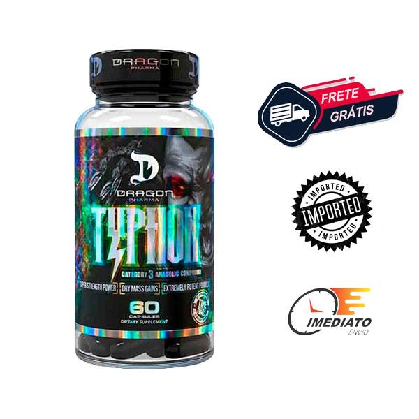 Typhon - Dragon Pharma ( 60 Cápsulas )   Para que serve, beneficios, comprar