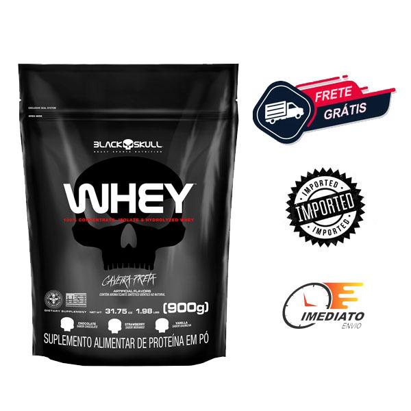 Whey Protein - Black Skull (0.9Kg)