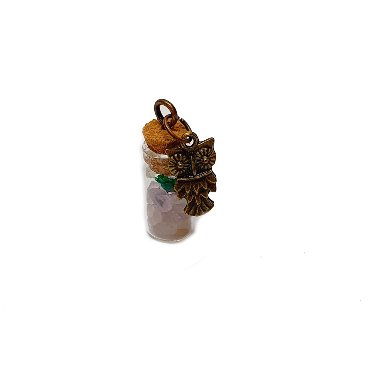 Amuleto de Pedra Natural Citrino
