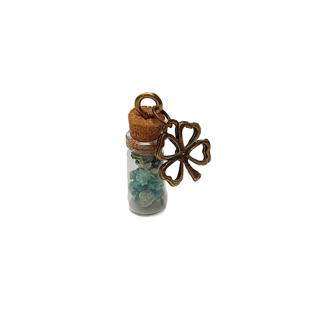 Amuleto de Pedra Natural Crisocola