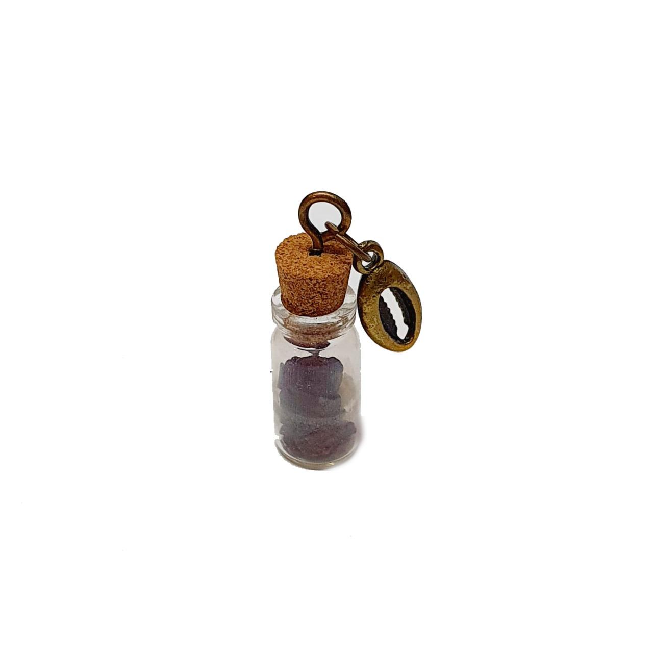 Amuleto de Pedra Natural Granada