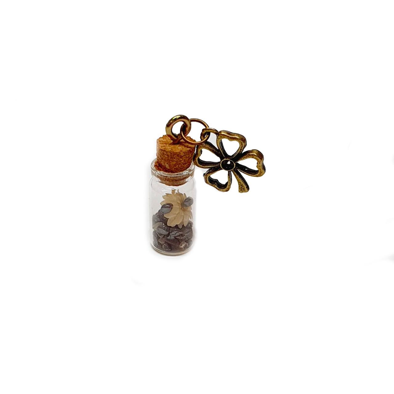 Amuleto de Pedra Natural Hematita