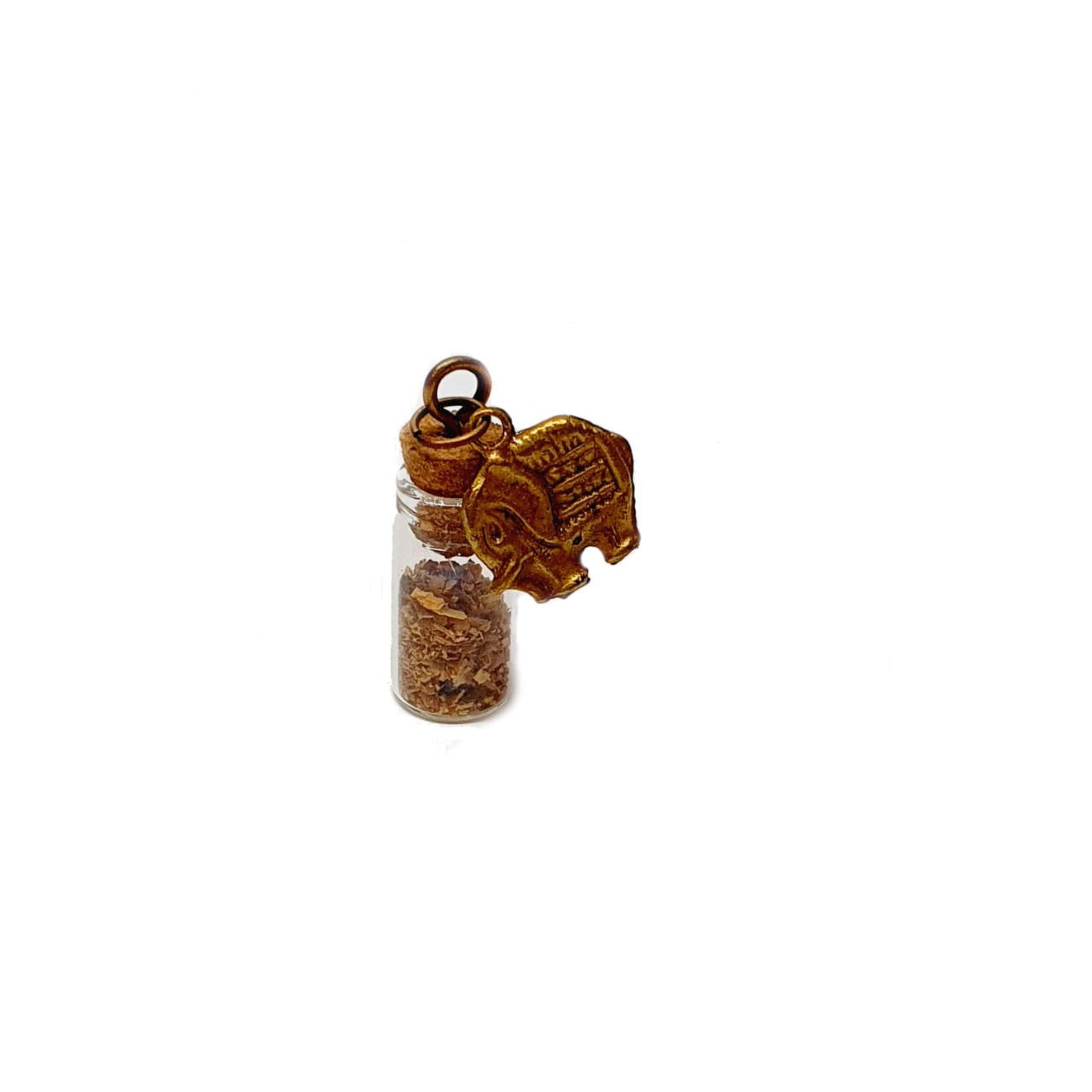 Amuleto de Pedra Natural Palo Santo