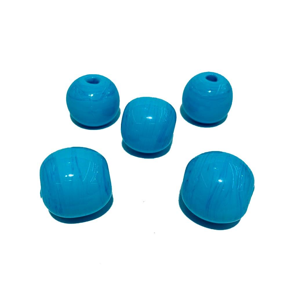 Bola de Murano GG Azul Turquesa