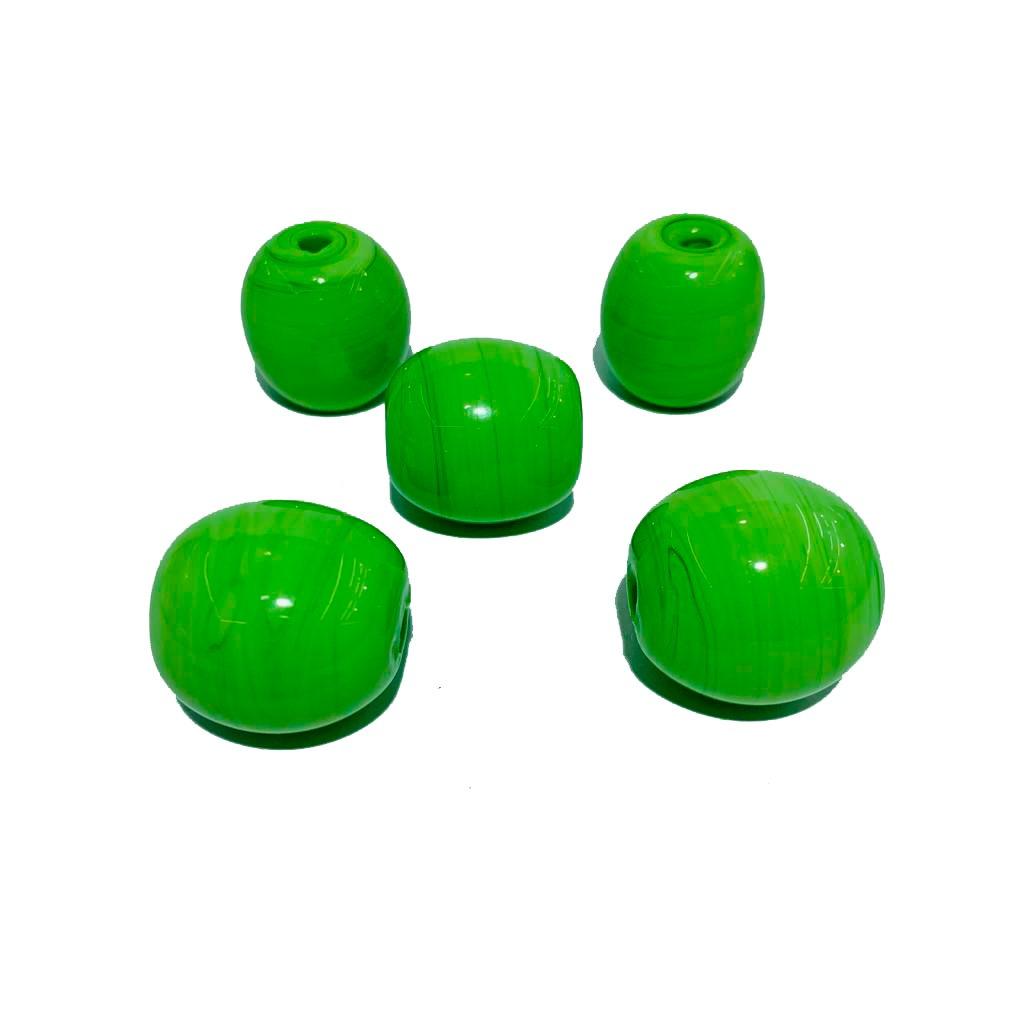 Bola de Murano GG Verde Limão