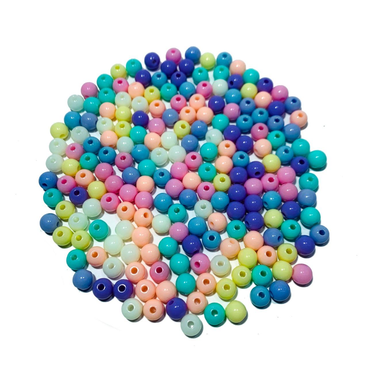 Bolinhas coloridas  8 MM
