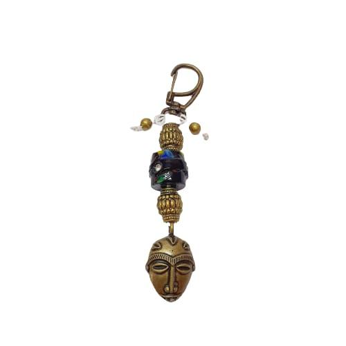 Chaveiro de Máscara Africana