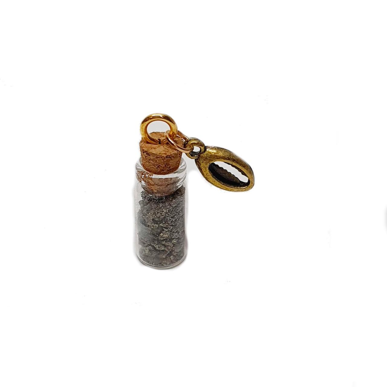 Amuleto de Pedra Natural Pirita