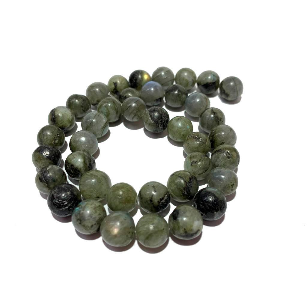 Pedra Natural Labradorita Cinza com Verde