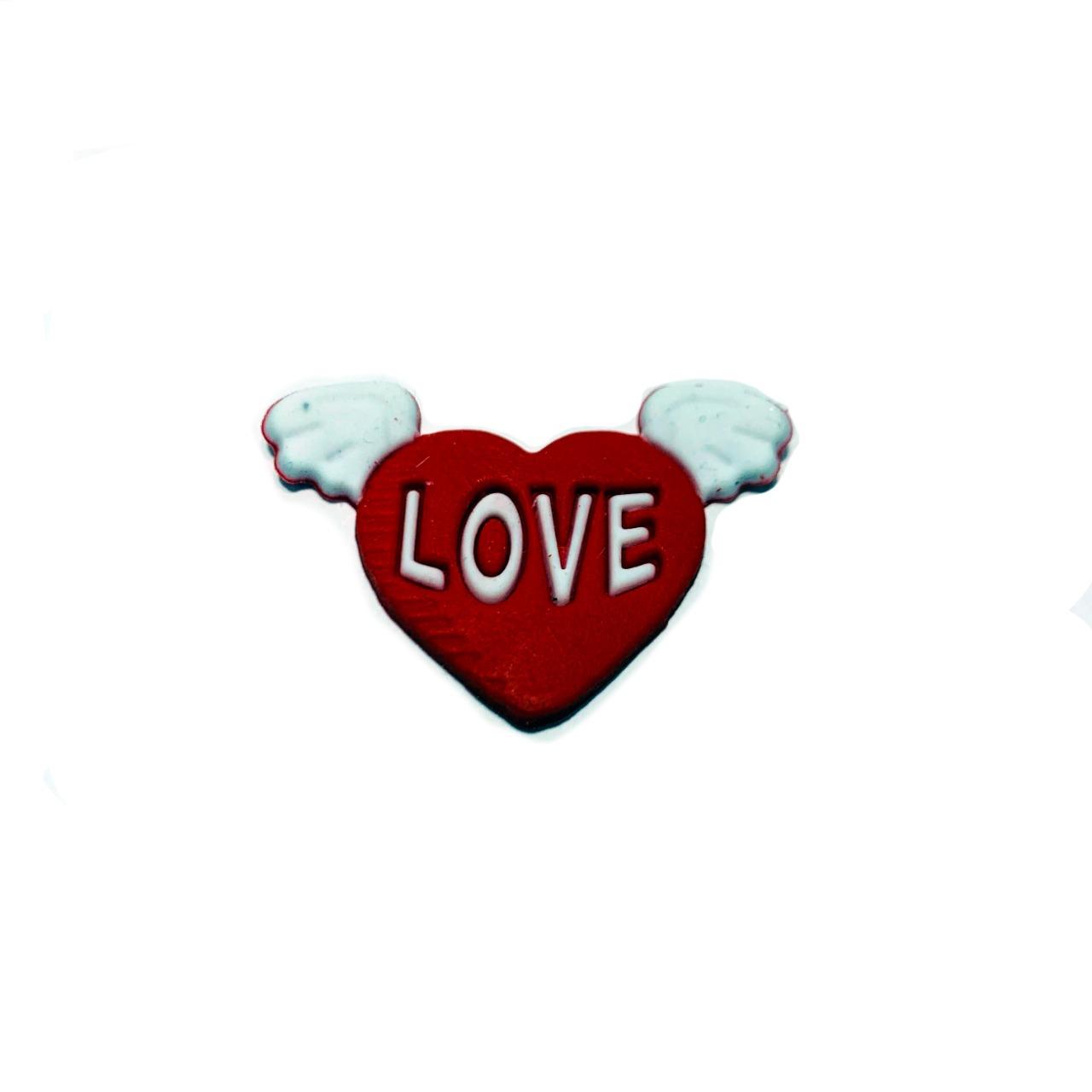 Coração com Asas Emborrachado