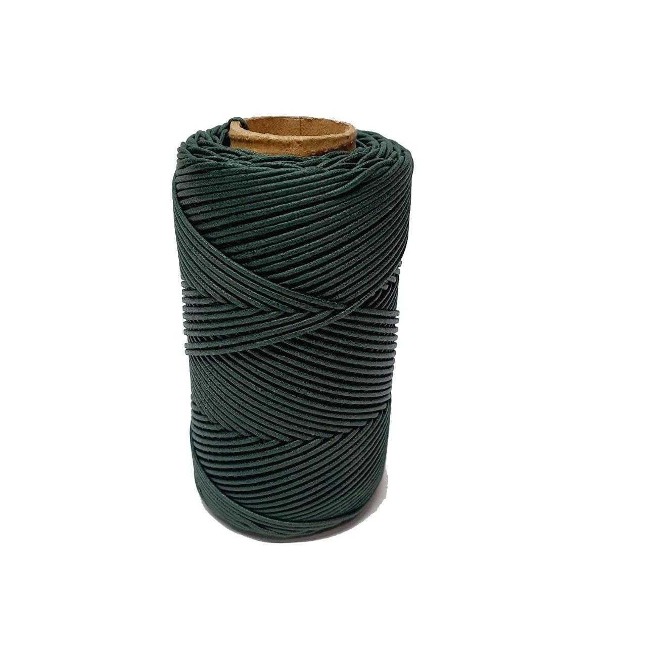 Cordão Encerado BF 100 1 MM Verde 370