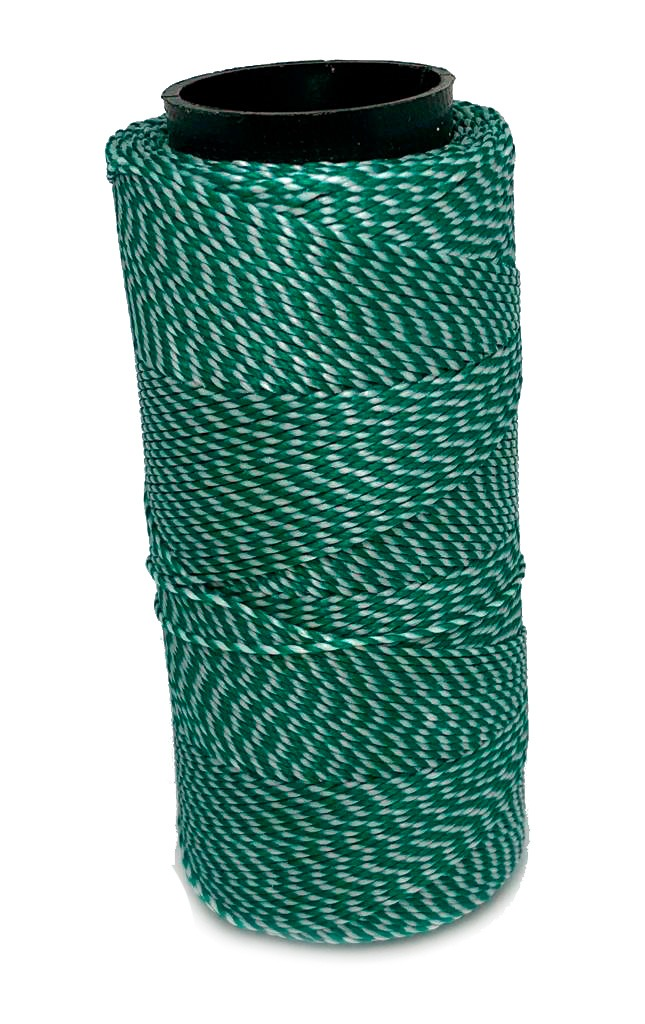 Cordonê Encerado Verde com Branco 0401