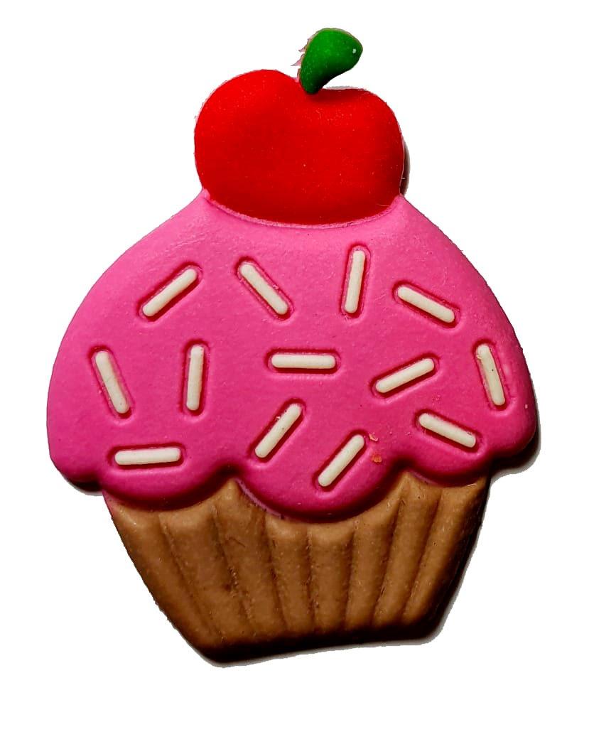 Cupcake com Cereja Emborrachado