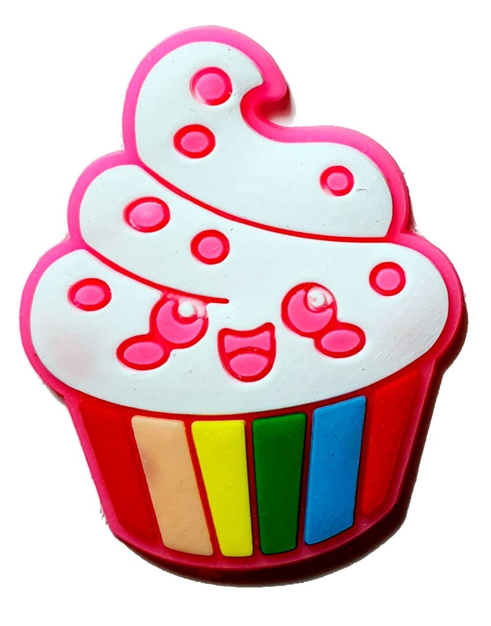 Cupcake Pink Emborrachado