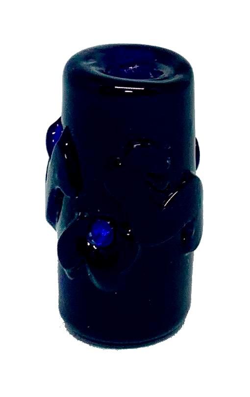 Firma de Murano GG Azulão Puro com Miolo na mesma cor e Strass Azul