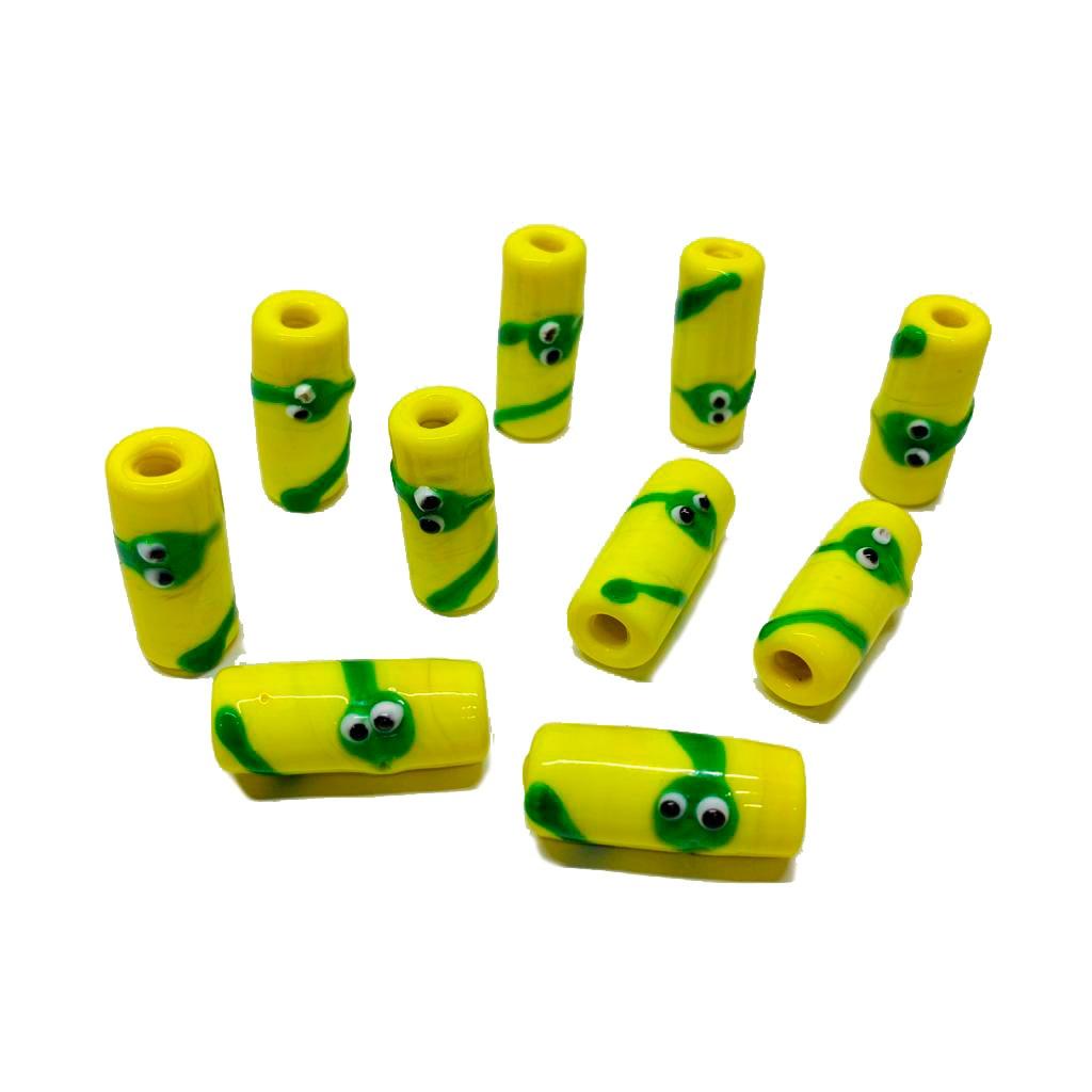 Firma M de Oxumaré Amarelo com Cobra Verde