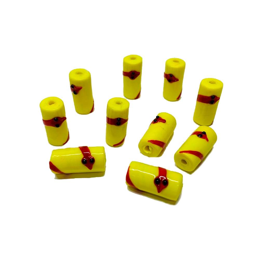 Firma M de Oxumaré Amarelo com Cobra Vermelha