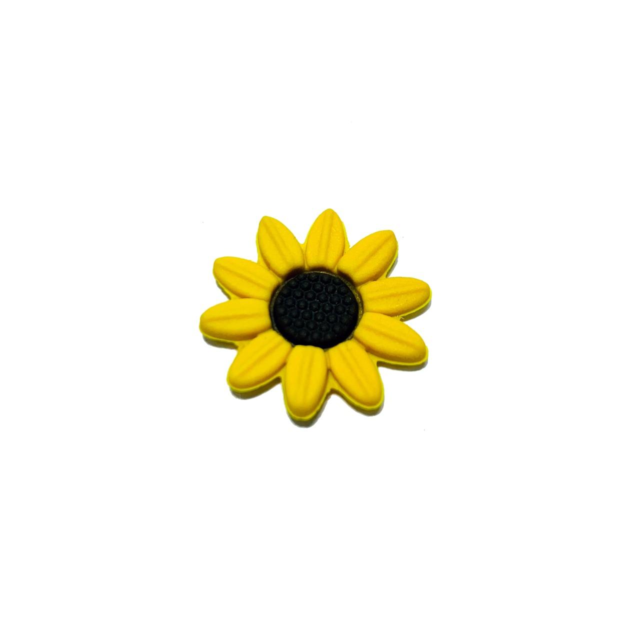 Flor de Girassol Emborrachado