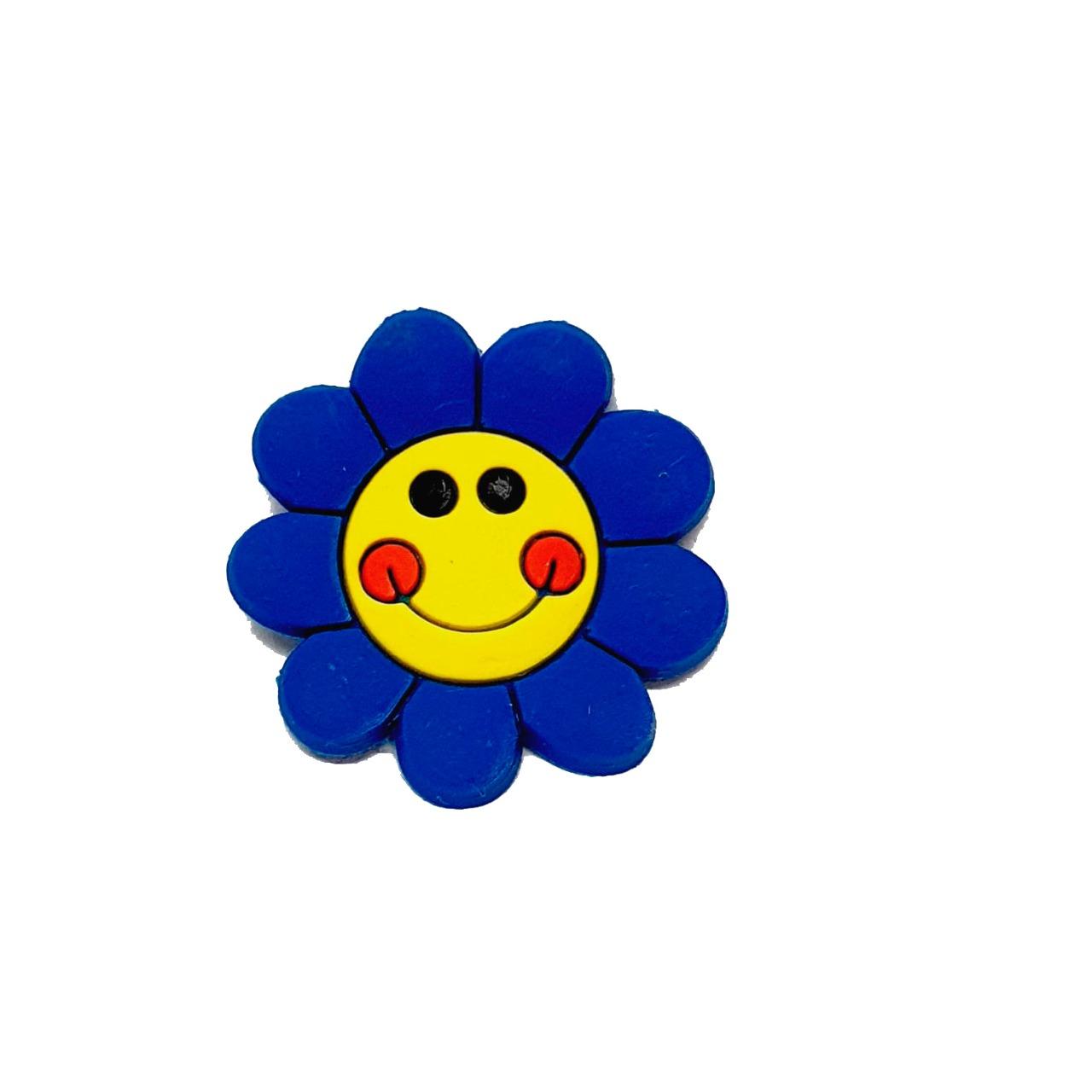 Flor Emborrachada Azul