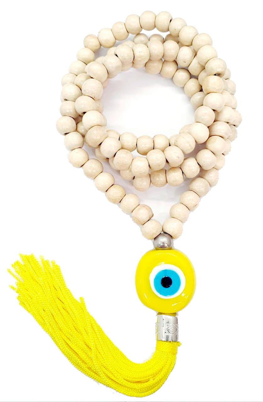 Japamala com Meru de Olho Grego Amarelo