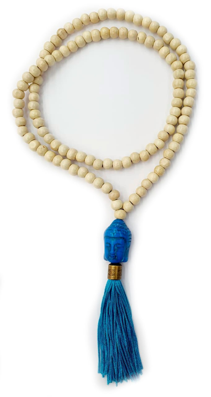 Japamala Cru com Buda Azul