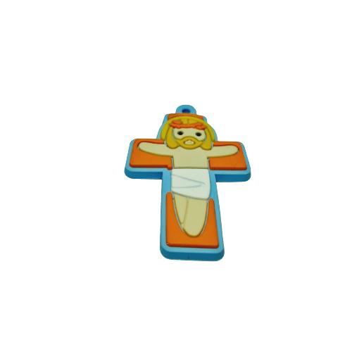 Jesus Cristo Loiro na Cruz Emborrachada