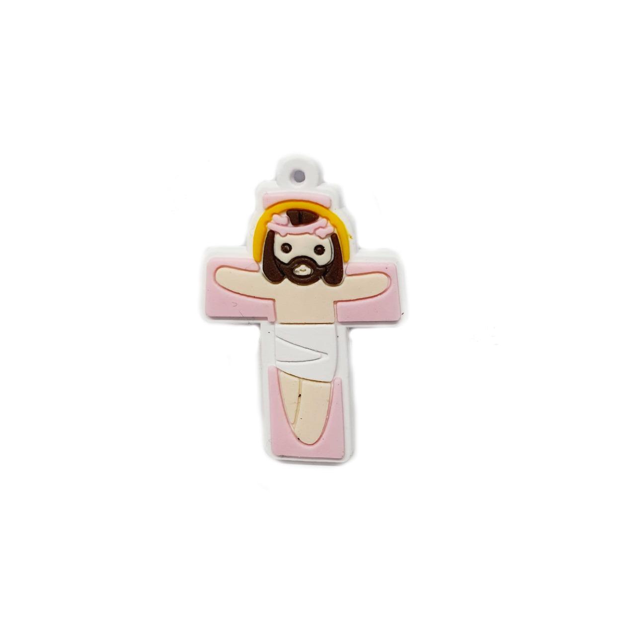 Jesus Cristo Moreno na Cruz Emborrachada