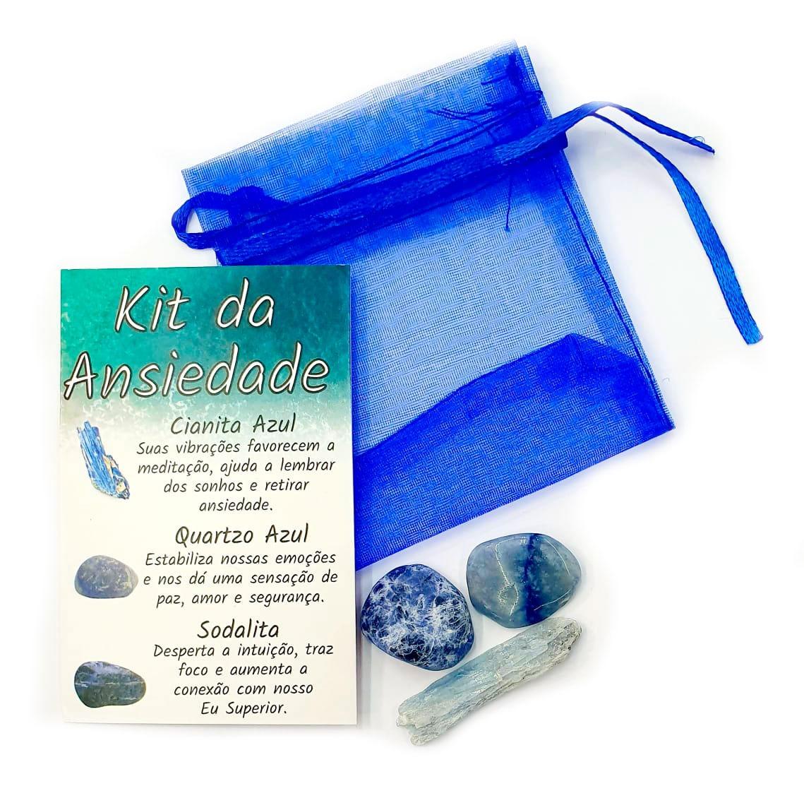 Kit da Ansiedade de Pedras Brasileiras