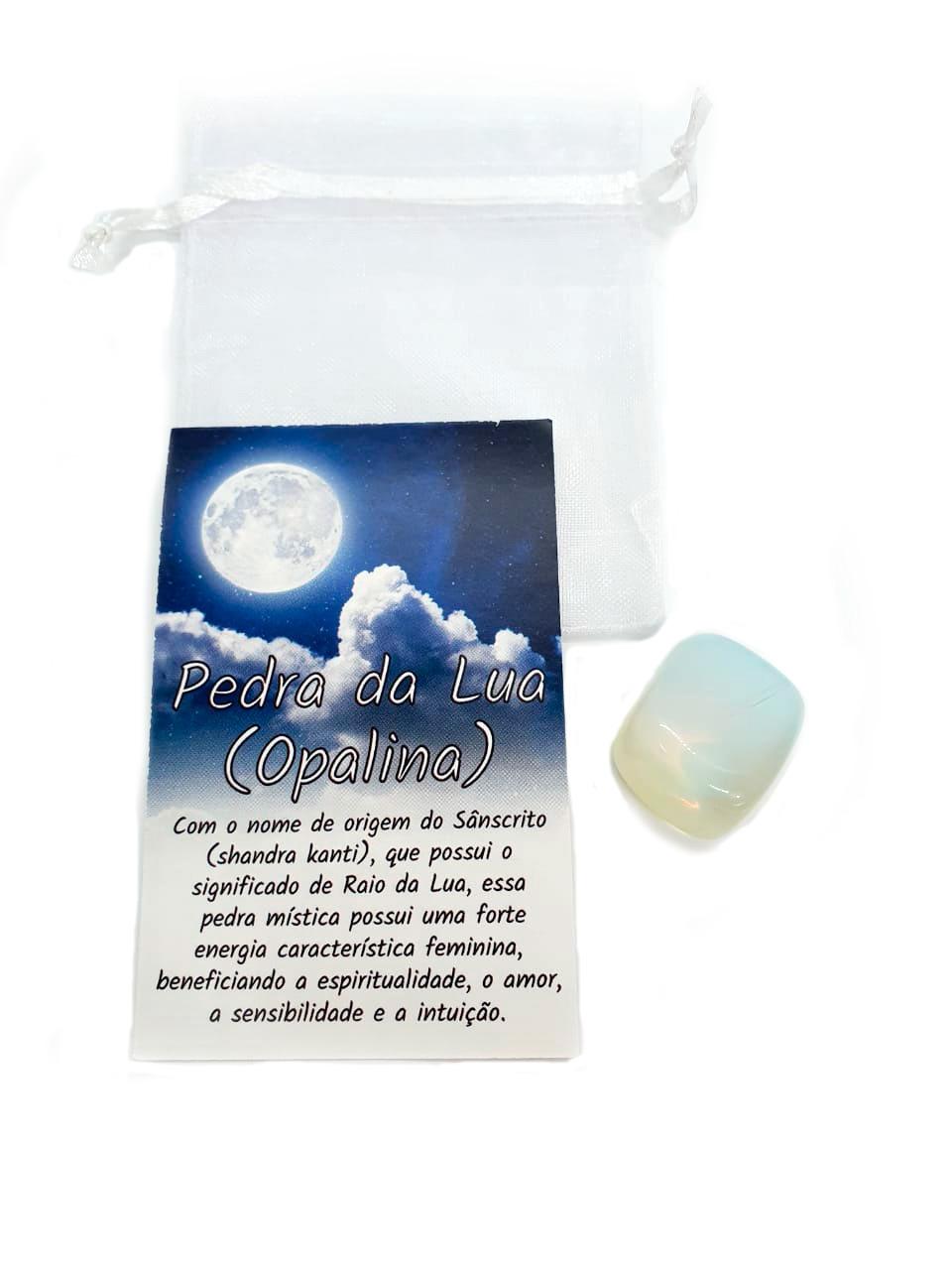 Kit de Pedras Brasileiras Pedra da Lua